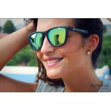 F7092 Bunte Lenshigh Qualität Cat 3 UV400 Sonnenbrille für Förderung