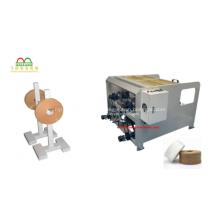 Máquina de fazer sacolas de papel com alças embutidas