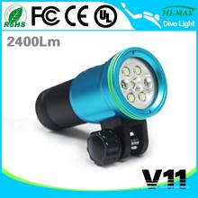HI-MAX V11 Beste Military Tauchausrüstung Tauchen LED Taschenlampe