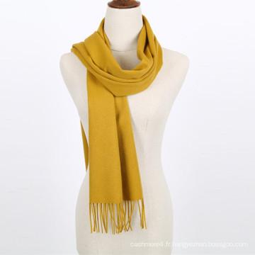 Écharpe en laine faite main