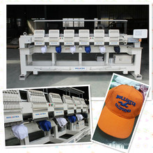 HOLiAUMA Quantify Produce 6 Head 15 Needles Industry Computerized Embroidery Machine For Commercial and Industrial Using