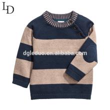 Outono de crianças de alta qualidade e camisola do pulôver da criança dos meninos da roupa do inverno