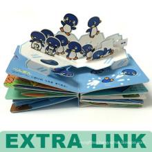 Super Cute High Quality Custom Design Hard Cover Children Pop Up Book