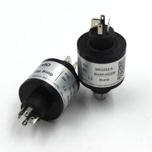 Src032-4 32mm Tipo de pasador Anillo deslizante Unión rotativa Conector eléctrico Alternador Anillo deslizante eléctrico