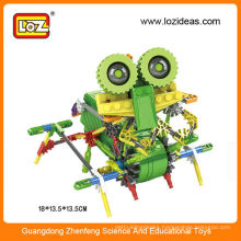 Diy building blocks educational robot