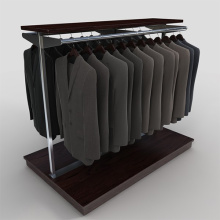 Customized+Floor+Shelf++Apparel+Display+Rack