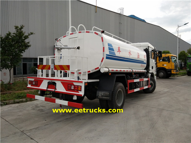 SHACMAN Truck Water Tanks