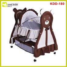 Hot sale white portable folding baby bassinet baby cradle