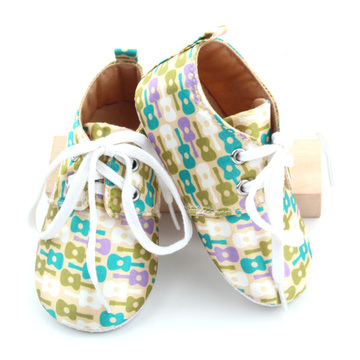 Fancy Aangepaste patronen Infant Casual Baby Shoes
