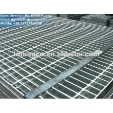 hot dip galvanized oil project grating