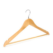 Custom wooden clothes hangers for dry cleaners wholesale