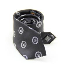Corbata floral de alta calidad 100% etiqueta privada para hombres
