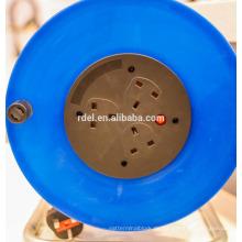UK-Kunststoff-Kabeltrommel, europäische Kabeltrommel mit IP44-Buchse BSI