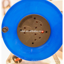 uk plastic cable reel ;european cable reel with ip44 socket BSI