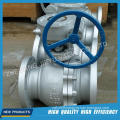 Gas Industrial Flanged Stainless Steel Floating Ball Valve
