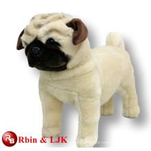 ICTI Audited Factory Plüsch Hund Pug weichen Spielzeug
