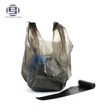 Рециркулирует HDPE пластичная ручка тельняшки мусор упаковки мешки для мусора