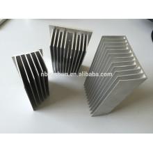 Perfis de extrusão de alumínio para dissipador de calor
