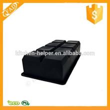 Soft y flexible Eco-Friendly 8-cavidad bandeja de cubitos de hielo de silicona