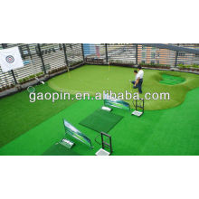 Synthetic Grass Golf Putting Green construction