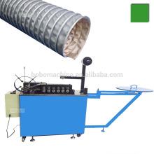 Braçadeira de aço reforçada PVC / vidro silício / tarpaulin máquina dupla flexível