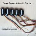 Выбрасыватель соленоидного клапана сортировщика цвета