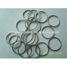 manufacturer wholesale cheap bag accessory metal ring for bag luggage