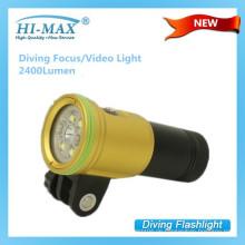 Hi-max 2400lm tragbare professionelle Video magnetischen Mount LED-Licht