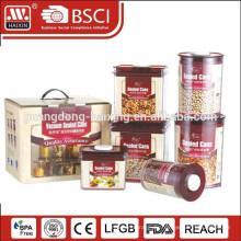 Spalte Kunststoff-Lebensmittel Vorratsbehälter, Haushaltswaren aus Kunststoff (4,8 L)