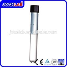 Tubo de teste de vidro de vidro de laboratório JOAN com tampa de parafuso a atacado