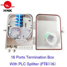 Caixa de terminação de cabo de fibra óptica de 16 portas (PTB116)
