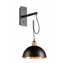 High Quality Aluminum Brass E27 Wall Mounted Lamp (MB6180D-BGF)