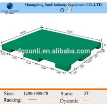 Caliente venta HDPE envío mini paletas de plástico