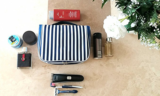 Large Capacity Hanging Toiletry Bag Cosmetic Makeup 3