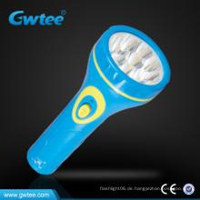 Plastik elektrische LED-Taschenlampe / Fackel