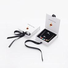 Factory Custom Velvet Jewelry Gift Paper Box with Design