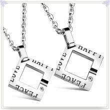 Joyería de moda joyería de acero inoxidable joyería collar colgante (nk730)
