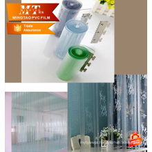 shower curtain Colored Printed Pvc Film For Furniture Laminating for table cloth
