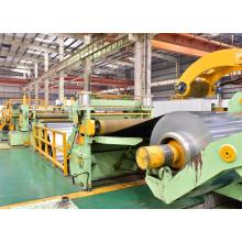 Máquina de línea de corte longitudinal de láminas de bobina de aluminio
