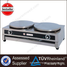 Heavy Duty Stainless Steel Gas or Electric Crepe maker