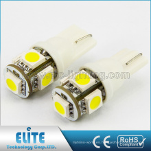 La calidad caliente Ce Rohs certificó T10 Led Auto Bulb Wholesale
