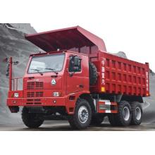 HOWO 6X4 70t camión volquete de la explotación minera (ZZ5707S3840AJ)