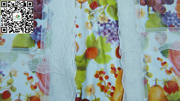 vinyl tablecloth 4 inch lace edge