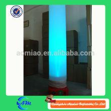 Inflável iluminação tubo inflável iluminação coluna de alta qualidade inflável iluminação produto