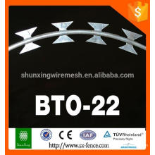 Razor barbed wire for wire mesh fence (manufactory )