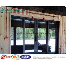 Venda quente que desliza a janela de alumínio de UPVC