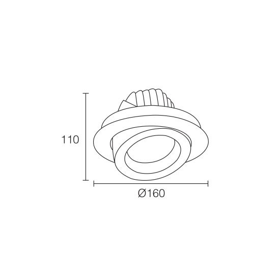 LED Downlight Dimmable