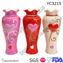 Keramik Handgemalte Vase für Zuhause dekorative