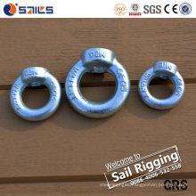 Hardware Rigging Galvanized Eye Nut with DIN 582