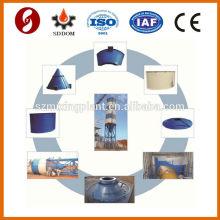 Novo projeto de tanque de cimento Tipo de peça silo de cimento de 50 toneladas com todos os acessórios